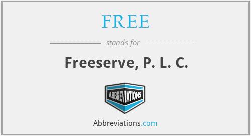FREE - Freeserve, P. L. C.