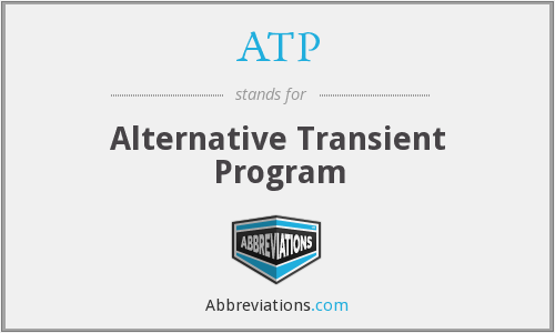 ATP - Alternative Transient Program