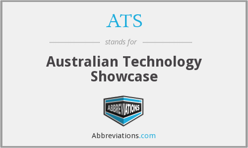 ATS - Australian Technology Showcase