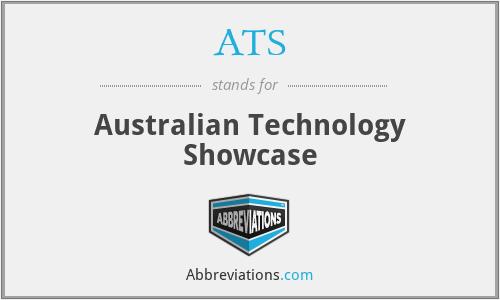 ATS - Australian Technology Showcase