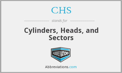 CHS - Cylinders, Heads, and Sectors