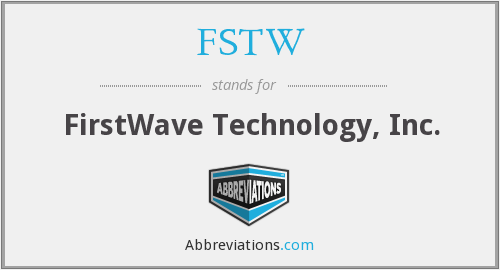 What does FSTW stand for?