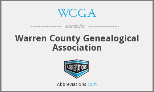 What does WCGA stand for?
