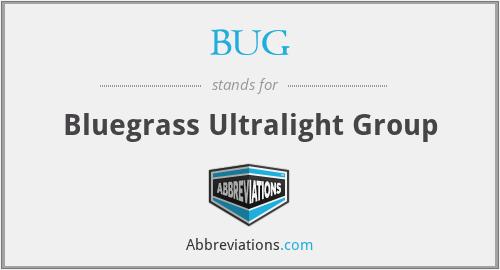 BUG - Bluegrass Ultralight Group