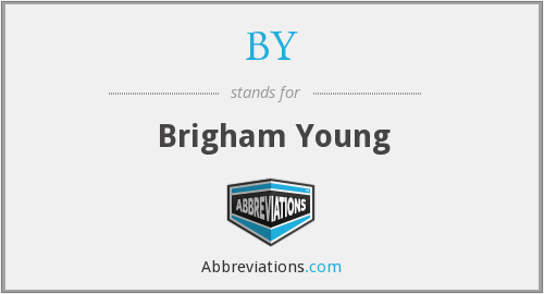 BY - Brigham Young