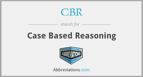 CBR - Case Based Reasoning