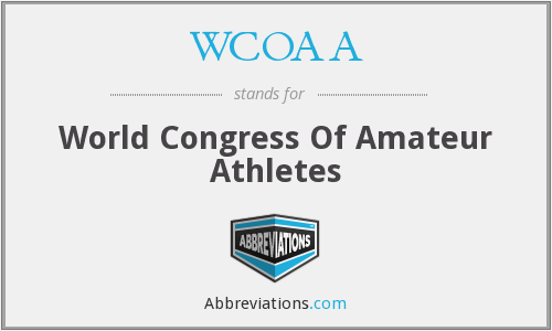 What does WCOAA stand for?