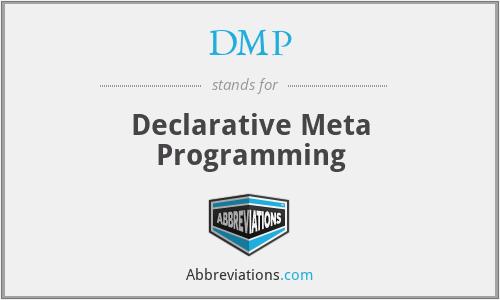 DMP - Declarative Meta Programming