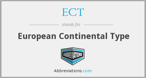 ECT - European Continental Type