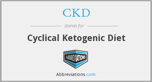 CKD - Cyclical Ketogenic Diet