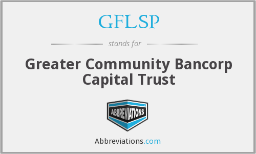 What does GFLSP stand for?