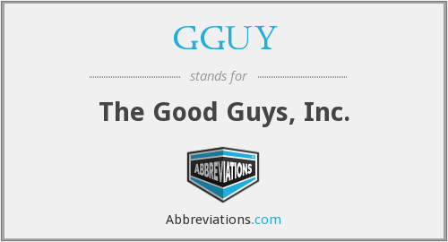 What does GGUY stand for?