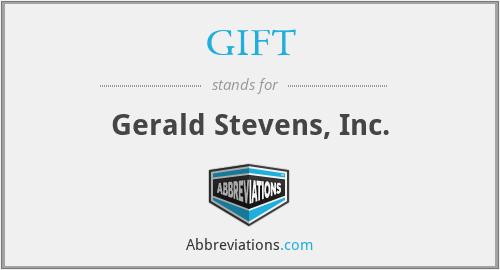 GIFT - Gerald Stevens, Inc.