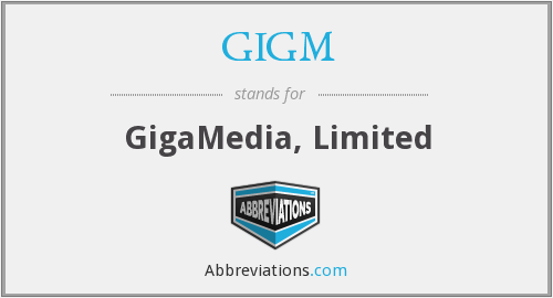What does GIGM stand for?
