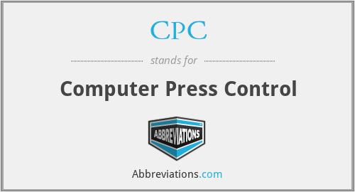 CPC - Computer Press Control