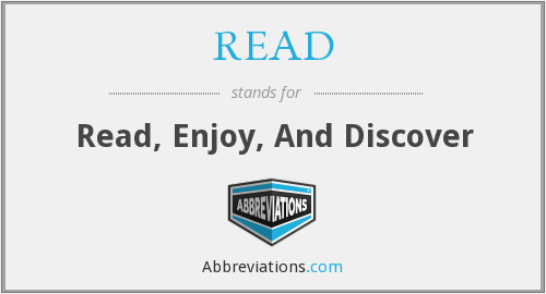 READ - Read Enjoy And Discover