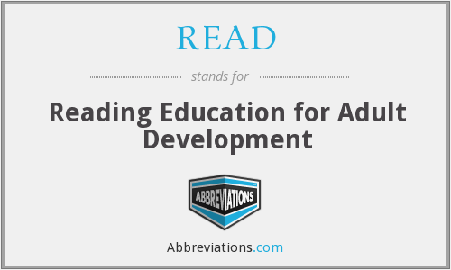 READ - Reading Education For Adult Development
