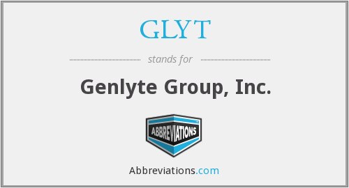 GLYT - Genlyte Group, Inc.