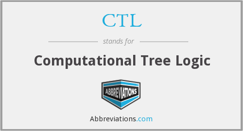 CTL - Computational Tree Logic