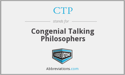 CTP - Congenial Talking Philosophers