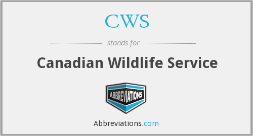 CWS - Canadian Wildlife Service