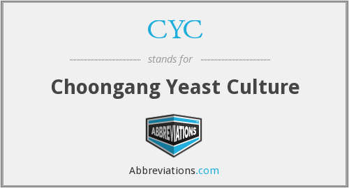 CYC - Choongang Yeast Culture
