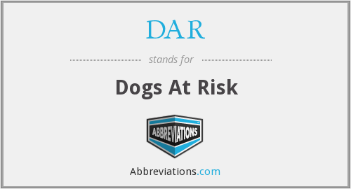 DAR - Dogs At Risk