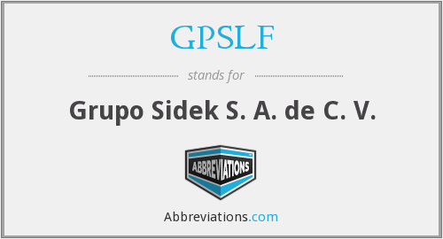 What does GPSLF stand for?