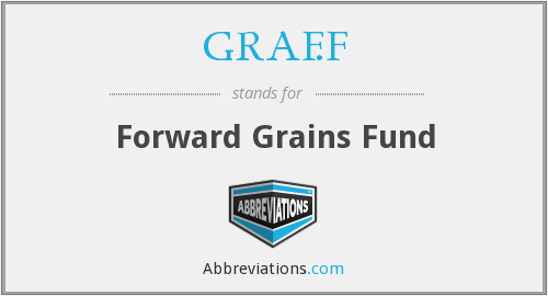 GRAF.F - Forward Grains Fund