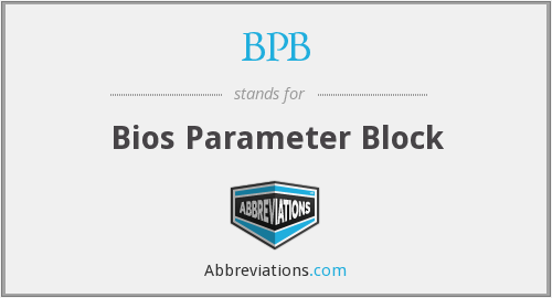 What does BPB stand for?