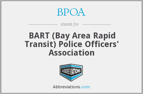 What does BPOA stand for?