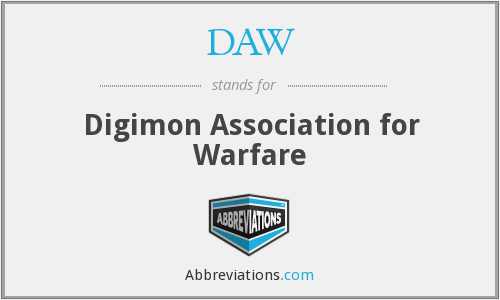 DAW - Digimon Association for Warfare