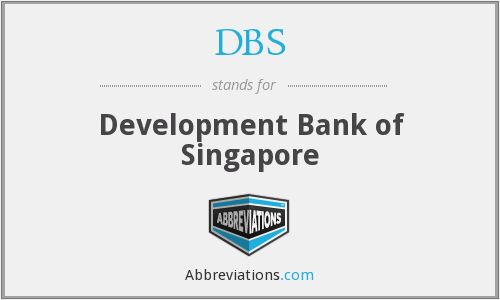 DBS - Development Bank Of Singapore