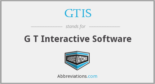 GTIS - G T Interactive Software