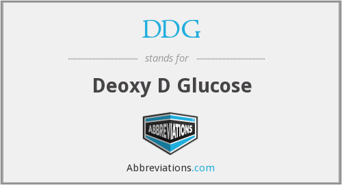 DDG - Deoxy D Glucose