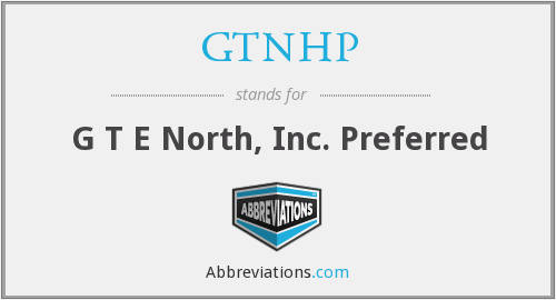 What does GTNHP stand for?