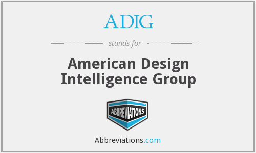 ADIG - American Design Intelligence Group