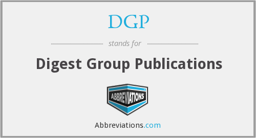 DGP - Digest Group Publications