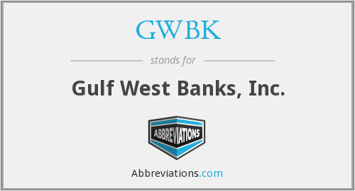 What does GWBK stand for?