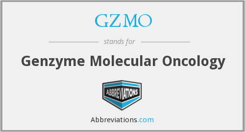 GZMO - Genzyme Molecular Oncology
