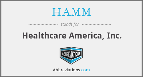 HAMM - Healthcare America, Inc.