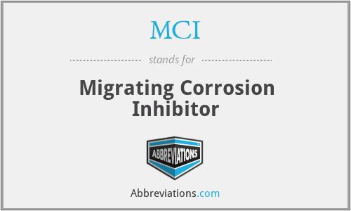 MCI - Migrating Corrosion Inhibitor