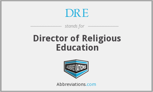 DRE - Director of Religious Education