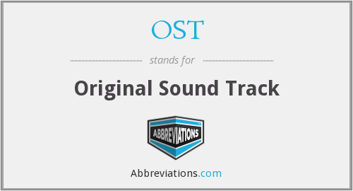 What does OST stand for?