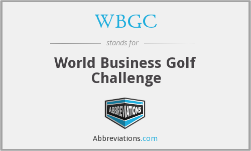 What does WBGC stand for?