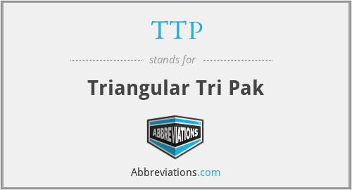 TTP - Triangular Tri Pak