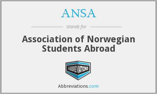 ANSA - Association of Norwegian Students Abroad