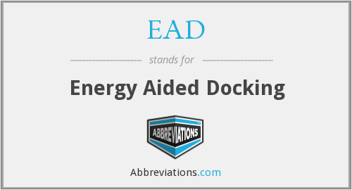 EAD - Energy Aided Docking