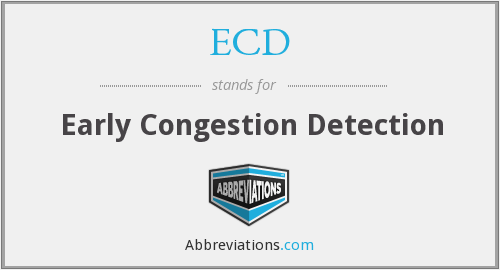 ECD - Early Congestion Detection