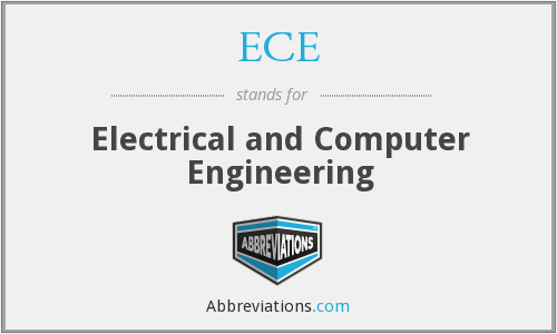 ECE - Electrical and Computer Engineering